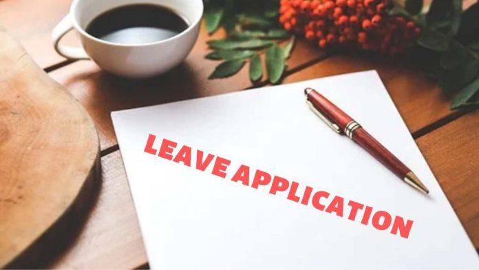 leave application