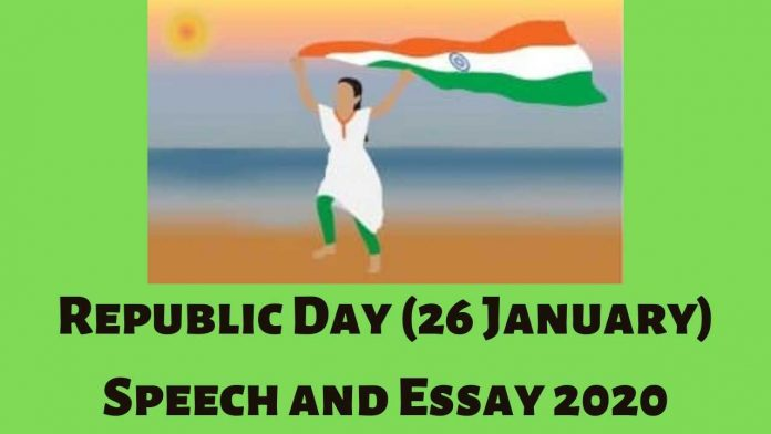 Republic Day (26 January) Speech and Essay 2020
