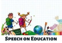 Speech on Education